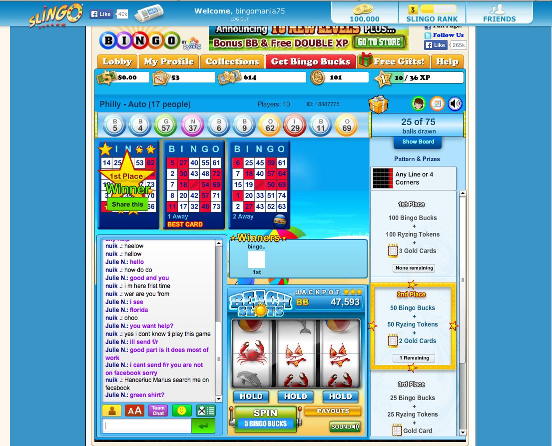 bingo friends online