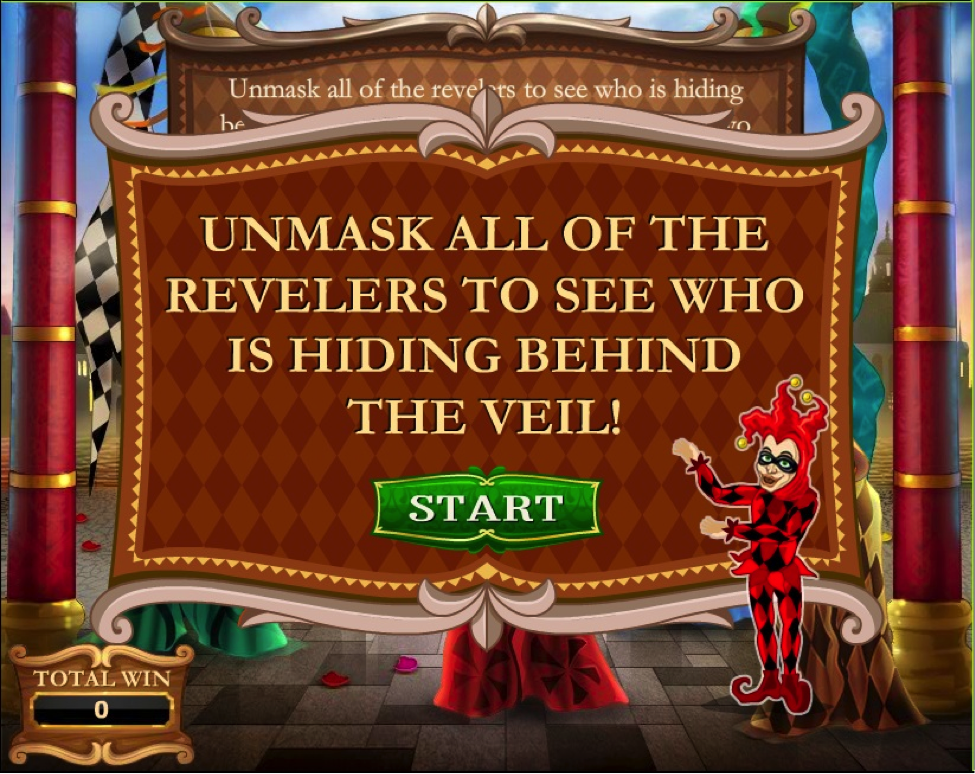 unmask the bonus round
