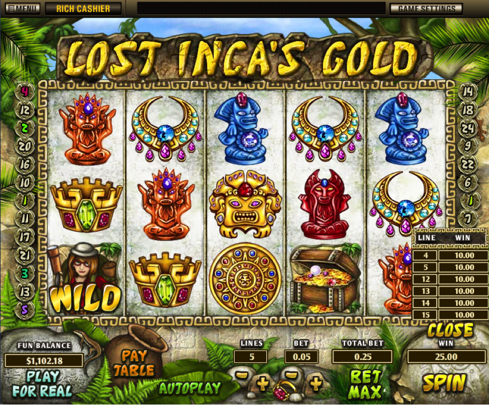 Lost Inca's Gold Slot