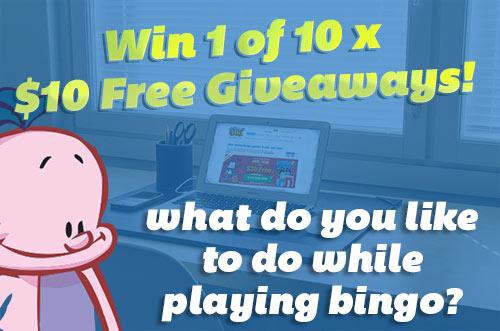 Bingo Mania Activies