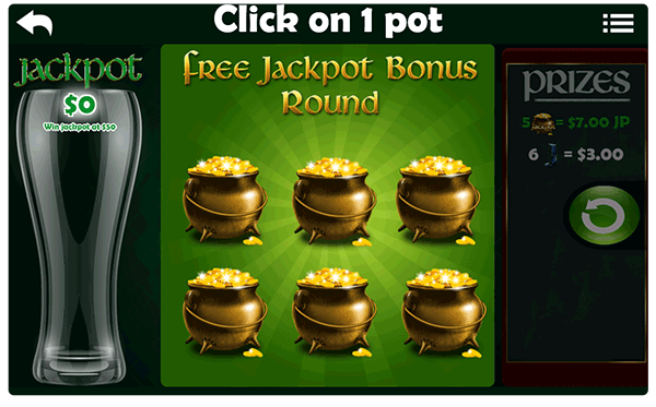 St . Patty's Gold Slot Machine