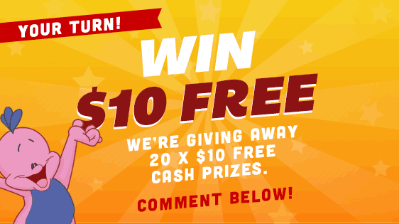 Win of 1 of 10 prizes