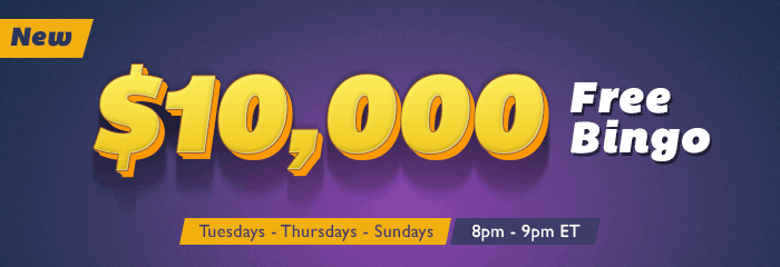 $10000 Free Bingo