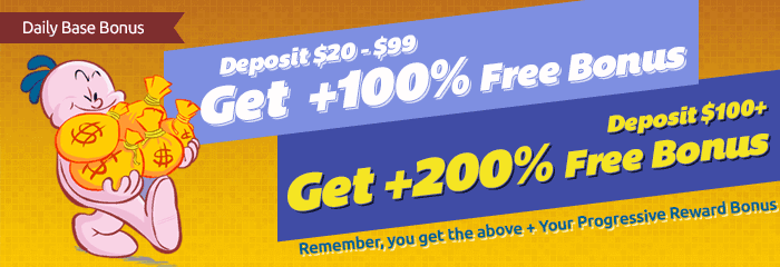 Daily Free Bonus Special