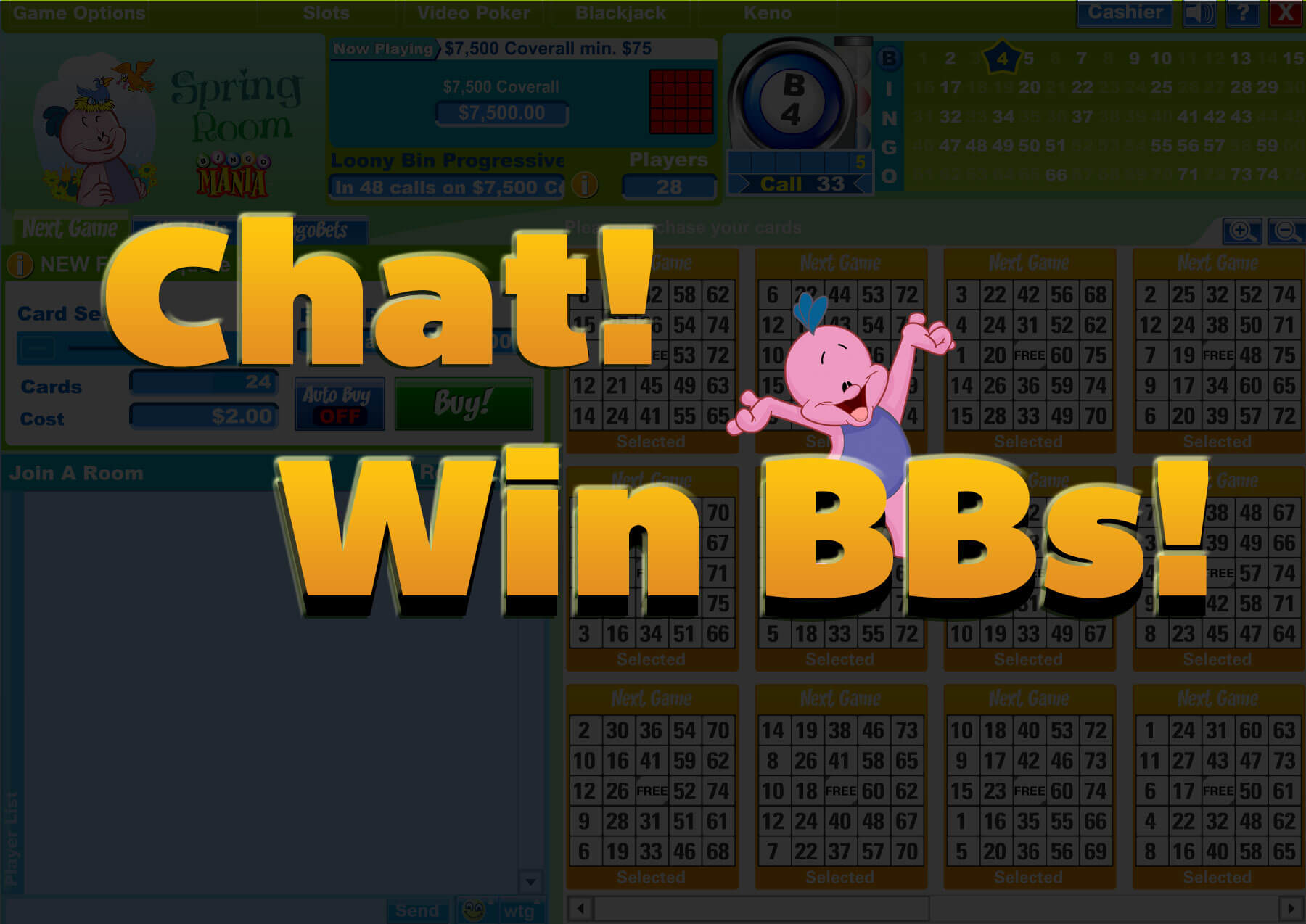 Chat & Win