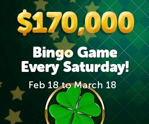$170,00 Bingo Game