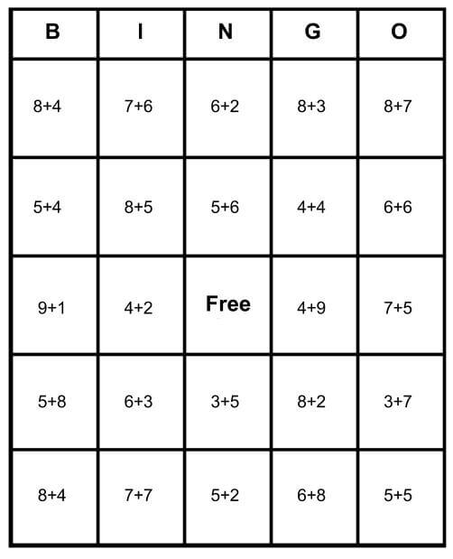 photo about Math Bingo Printable named Math Bingo Absolutely free Playing cards - Understand How Toward Perform Print for Absolutely free