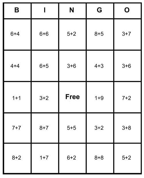 photograph about Printable Math Bingo named Math Bingo Absolutely free Playing cards - Find out How In the direction of Participate in Print for Totally free