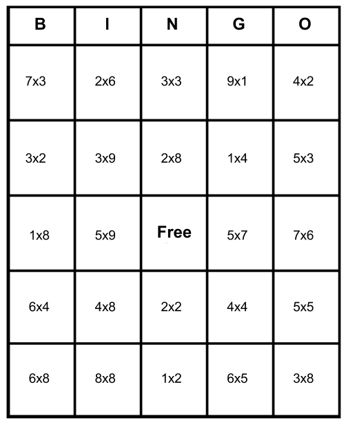 photograph regarding Addition Bingo Printable known as Math Bingo Free of charge Playing cards - Master How In the direction of Enjoy Print for No cost
